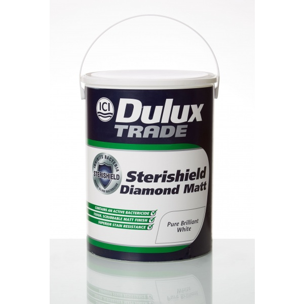 Biomaster technology enables Dulux Sterishield paint to defend against bacteria