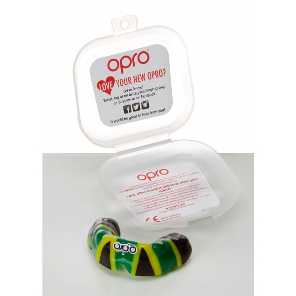 OPRO mouthguards with Biomaster additives protect your teeth and personal hygiene during sport